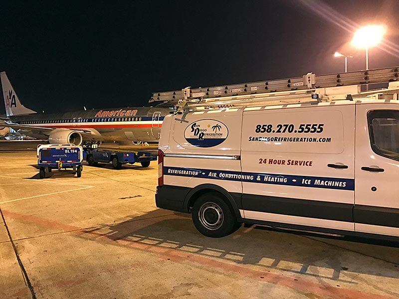San Diego Refrigeration Airline Service Image