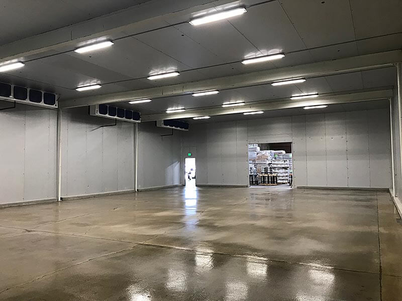 San Diego Refrigeration Completed Interior Image
