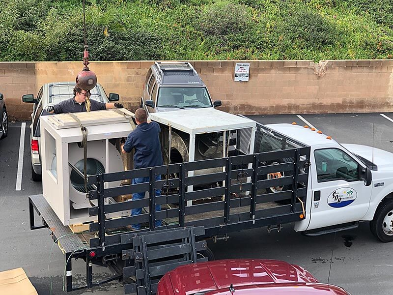San Diego Refrigeration Equipment Delivery and Removal Image