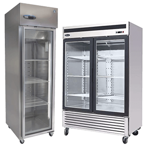 Reach in Coolers and Freezers