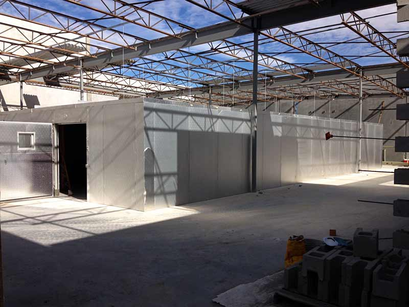 Custom Warehouse Installation