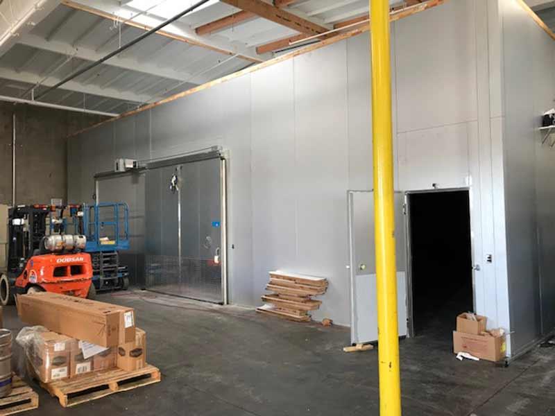 Internal Refrigeration Doorways