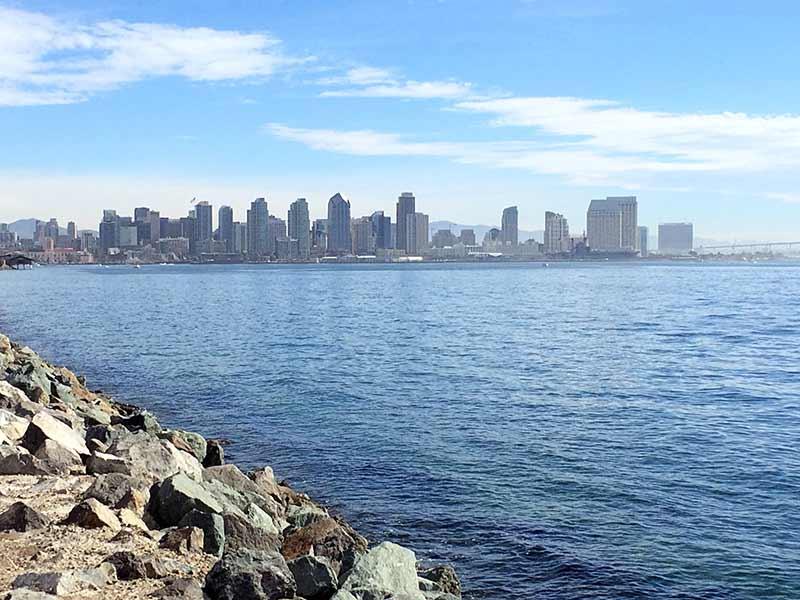 San Diego Skyline from the Bay