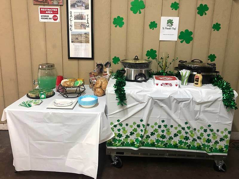 St. Patricks Day Office Party