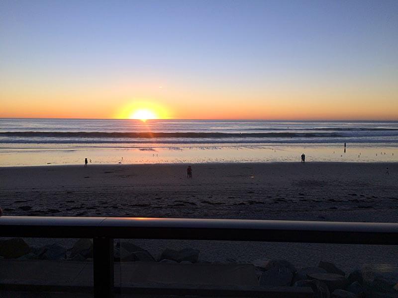 San Diego Sunset on the Beach