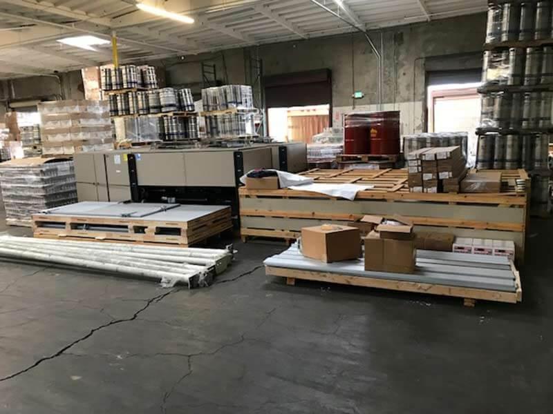 Warehouse of Equipment